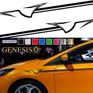 カーピンストライプステッカー02■車用デコラインバイナルグラフィック|syarakugenesis