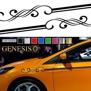 カーピンストライプステッカー05■車用デコラインバイナルグラフィック|syarakugenesis