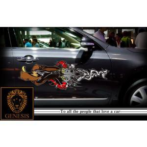 ファルコンカーステッカープレミアム07車用 シール/ワイルドスピード系バイナルカスタムかっこいい 14色から選べる|syarakugenesis