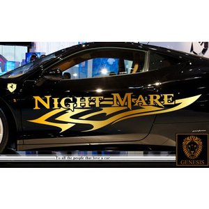 トライバルカーステッカープレミアム100車用 シール/ワイルドスピード系バイナルカスタムかっこいい 14色から選べる|syarakugenesis