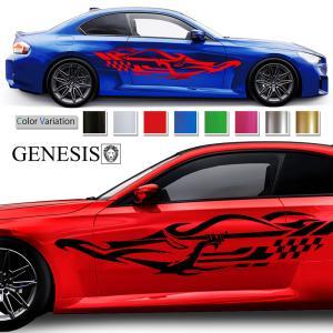 ラインカーステッカープレミアム101車用 シール/ワイルドスピード系バイナルカスタムかっこいい 14色から選べる|syarakugenesis