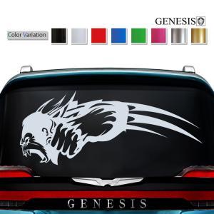 車 ステッカー かっこいい カスタム ゴリラ リア カーステッカー 車用 バイナルグラフィック コング ワイルドスピード系 デカール 「14色から選べる」 39|syarakugenesis