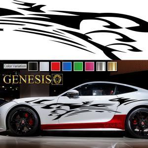 トライバルカーステッカーwa13■バイナルグラフィック車ワイルドスピード系デカール かっこいい 14色から選べる|syarakugenesis