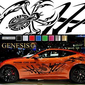 スパイダーカーステッカーwa23■バイナルグラフィック車蜘蛛ワイルドスピード系デカール かっこいい 14色から選べる|syarakugenesis