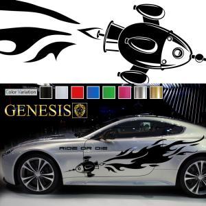 ミサイルカーステッカーwa29■バイナルグラフィック車ワイルドスピード系デカール かっこいい 14色から選べる|syarakugenesis