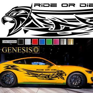 ファルコンカーステッカーwa34■バイナルグラフィック車ワイルドスピード系デカール かっこいい 14色から選べる|syarakugenesis