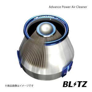 BLITZ エアクリーナー ADVANCE POWER ステージアWGNC34 ブリッツ