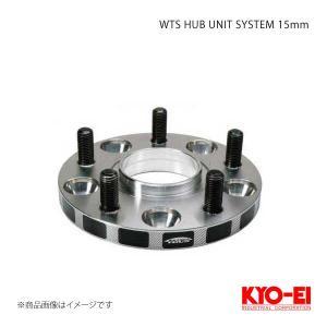 KYO-EI ワイドトレッドスペーサーハブユニットシステム 15mm 5穴 100 M12×P1.5 φ54 2枚1セット|syarakuin-shop