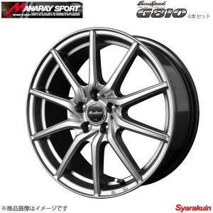 MANARAY SPORT/EuroSpeed G810 アルミホイール 4本セット ラパン/ラパン...