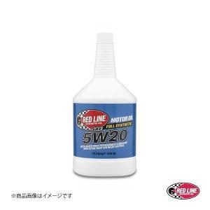 RED LINE/レッドライン エンジンオイル SAE20 5W-20 1USQUART(0.94L) 1本|syarakuin-shop