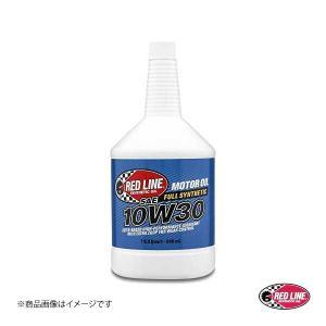 RED LINE/レッドライン エンジンオイル SAE30 10W-30 1USQUART(0.94L) 4本|syarakuin-shop
