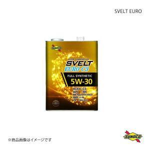 SUNOCO スノコ SVELT EUROシリーズ エンジンオイル C3 5W-30 20Lペール|syarakuin-shop
