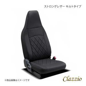 Clazzio クラッツィオ ストロングレザー キルトタイプ EI-4016-01 ブラック×ブラッ...
