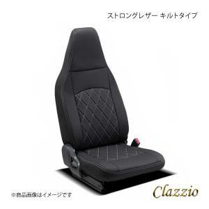 Clazzio クラッツィオ ストロングレザー キルトタイプ EI-4016-01 ブラック×ホワイ...