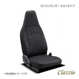 Clazzio クラッツィオ ストロングレザー キルトタイプ EI-4016-01 ブラック×レッド...