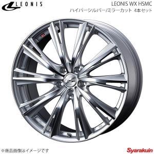 LEONIS WX/レオニスWX トヨタ アルファード/ヴェルファイア 30系 (ハイブリッド含む) アルミホイール 4本 【16×6.5J 5-114.3 INSET40 HSMC】|syarakuin-shop
