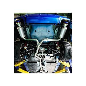 ヤシオファクトリー Yashio Factory C-SER Urban Titan Muffler  インプレッサWRX GVB|syarakuin-shop