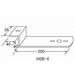 ステー HSB-6 バスマーカーステー(発送グループ:B)|syarunet