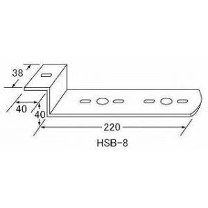 ステー HSB-8 バスマーカーステー(発送グループ:B)|syarunet