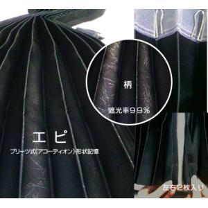 寝具・トラック用カーテン (国産)エピ(リアカーテン)色:ブラック・2枚入り(発送グループ:S)|syarunet