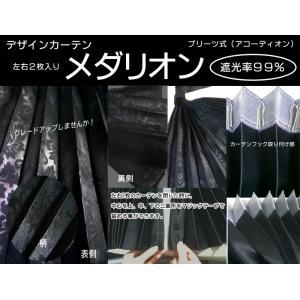 寝具・トラック用カーテン (国産)メダリオン(リアカーテン)色:ブラック・2枚入り(発送グループ:S)|syarunet