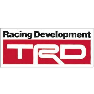 【メール便可】TRD ステッカーB3タイプ|syayuujin