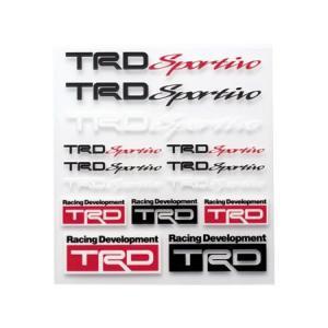 【メール便可】TRD Sportivo ミニステッカーセット|syayuujin
