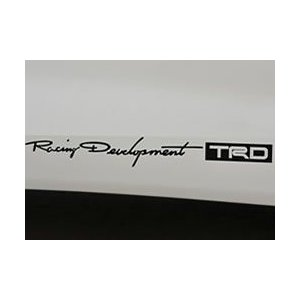 【メール便可】TRD ステッカー(大)|syayuujin