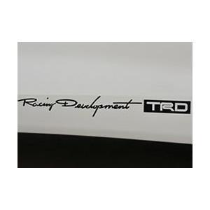 【メール便可】TRD ステッカー(小)|syayuujin