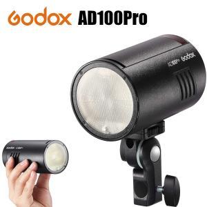 日本正規代理店品 GODOX AD100pro 照明 ライト 持ち運びケース付き ポータブルポケット...