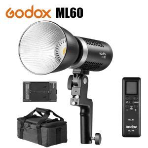 日本正規代理店品 Godox ML60 手持ち式LEDビデオライト 60W 5600K CRI96 ...