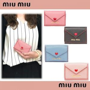 wholesale dealer d157d fec39 ミュウミュウ レディース三つ折財布財布の商品一覧 ...