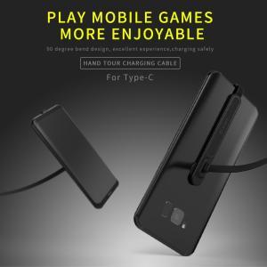 スマートフォン用 microUSB 充電ケーブル 2m 90°折り曲げ ゲーム対応|synergy2