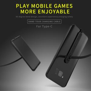 スマートフォン用 Type-C 充電ケーブル 1m 90°折り曲げ ゲーム対応|synergy2