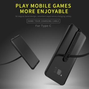 スマートフォン用 Type-C 充電ケーブル 2m 90°折り曲げ ゲーム対応|synergy2
