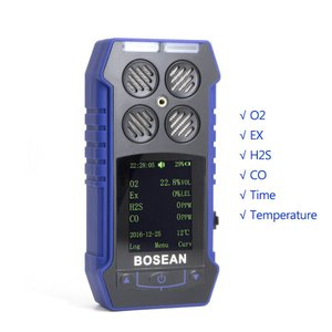 4 in 1 複合ガスモニター 一酸化炭素 硫化水素酸化物 可燃ガスもれセンサー|synergy2