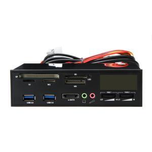 デスクトップコンピューター 5.25インチベイ埋込み式 USB 3.0 e-SATA オールインワン...