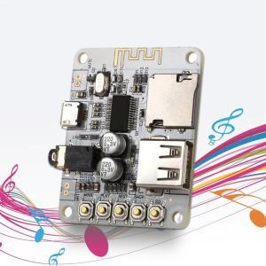 Bluetooth オーディオレシーバー USB microSDカード MP3プレーヤー モジュール ケース付き synergy2