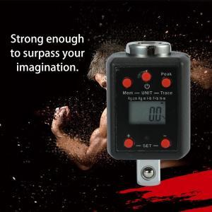 高精度 デジタルディスプレイ 電子トルクメーター 10-1000Nm 3/4 インチ|synergy2