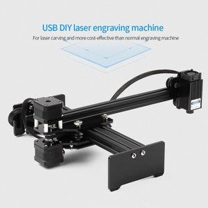 DIY 高速 デスクトップ レーザー エングレービング 彫刻機 1600mW 17 x 20cm|synergy2