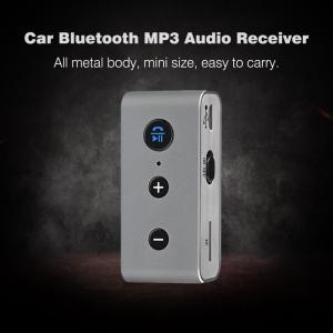 Bluetooth 4.2 オーディオレシーバー A2DP AUX microSDカード MP3プレーヤー synergy2