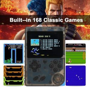 168種類のゲームが入ったポータブルゲームコンソール 3.0インチカラー液晶ディスプレイ テレビに接...
