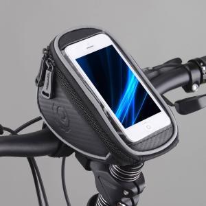 Roswheel 自転車用トップチューブバッグ(5インチスマートフォン収納型ハンドルバーポーチ/11810)|synergy2