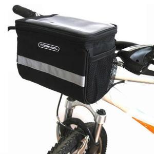 Roswheel 自転車用フロントハンドルバスケットバッグ マップ防水カバー|synergy2
