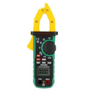 AC/DC電圧・電流、抵抗、キャパシタンス、周波数、デューティーサイクルの測定、ダイオードチェックと...