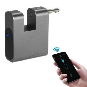 Bluetooth スマート キーレスロック 南京錠 IP65防水 Android iOS スマホ対応 ステンレス synergy2