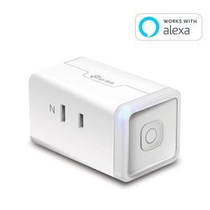 TP-Link WiFi スマートプラグ 遠隔操作 直差しコンセント Echo シリーズ/Google ホーム/LINE Clova 対応 音声コントロール|synergy2