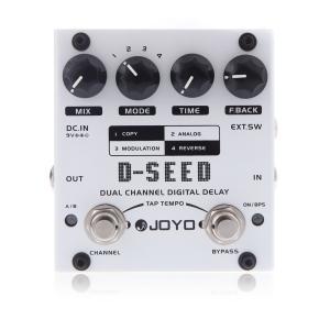 JOYO D-SEED デュアルチャンネル・デジタルディレイ(ギターエフェクター/4モード)|synergy2