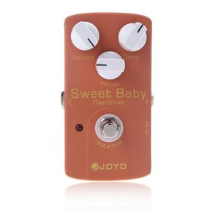 JOYO JF-36 Sweet Baby スイート ベイビー・ギターエフェクター(ローゲイン・オーバードライブ/フォーカス調整つまみ付)|synergy2