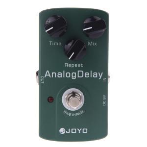 JOYO JF-33 Analog Delayアナログディレイ・ギターエフェクター(トゥルーバイパス式)|synergy2